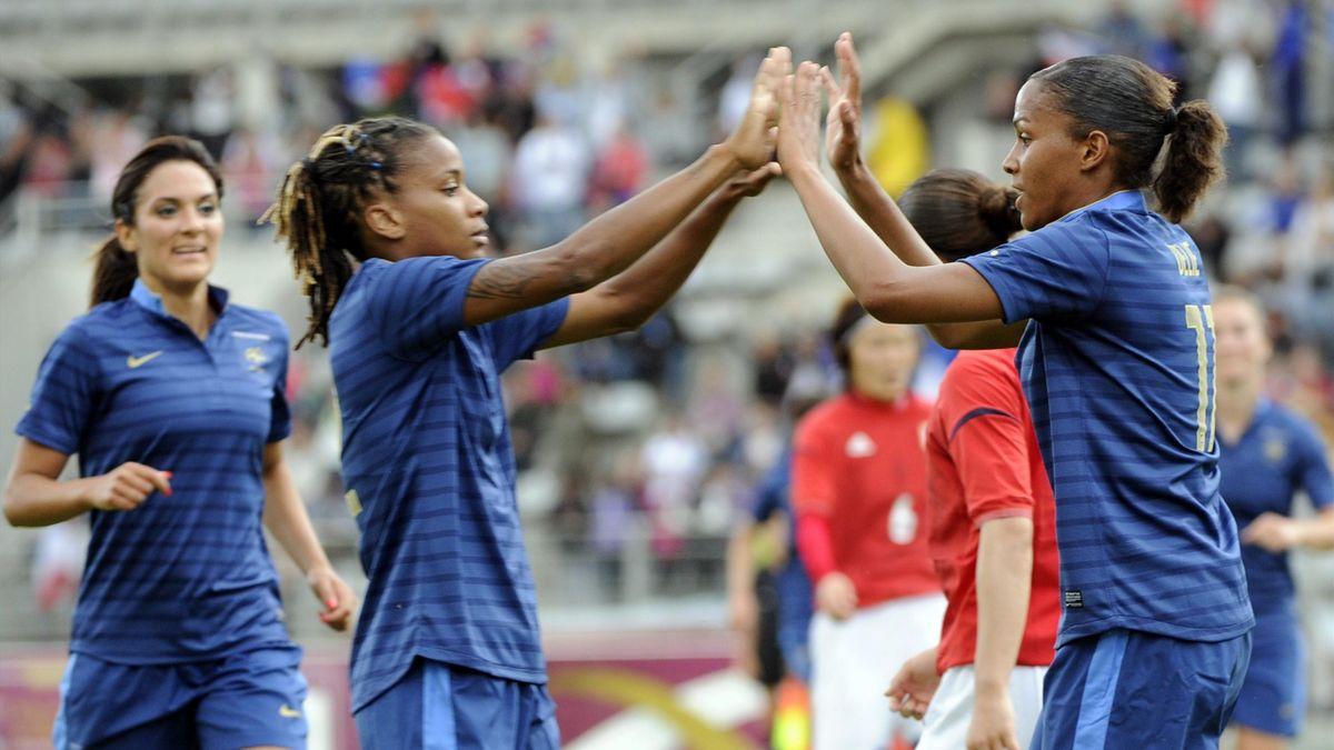 FOOTBALL 2012 France Marie-Laure Delie Elodie Thomis