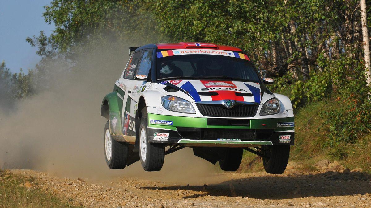 2012 Romania Rally Skoda Mikkelsen