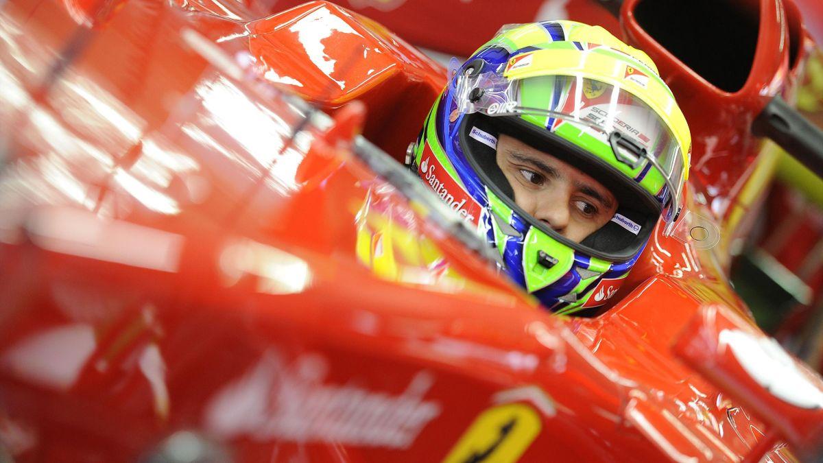 2012 GP d'Allemagne Ferrari Massa