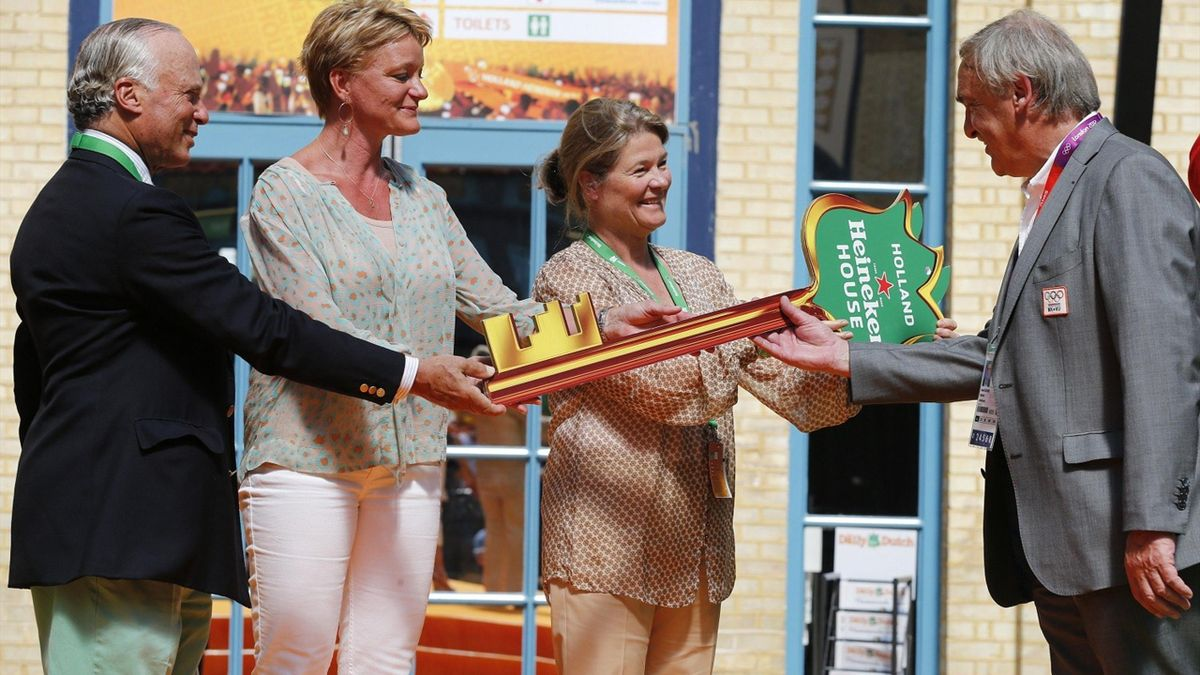 Opening of Holland Heineken House