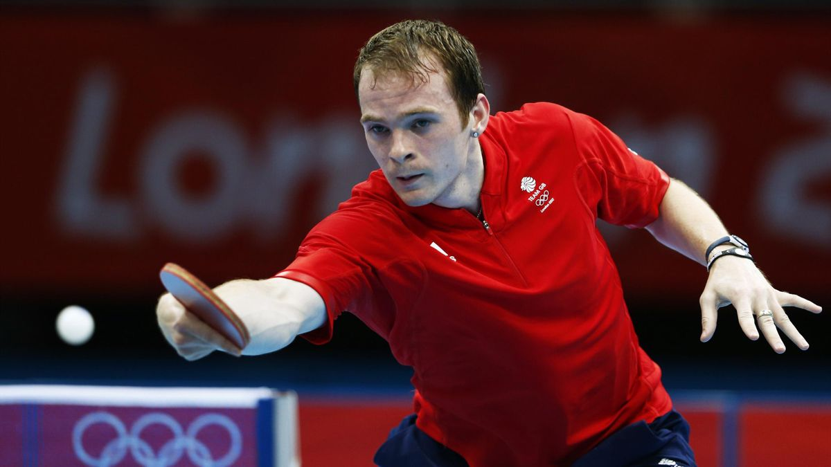Paul Drinkhall, Team Great Britain, London 2012 Olympic table tennis (Reuters)