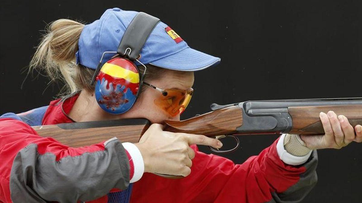 Alicia Cedrián Juegos Olímpicos tiro foso londres 2012