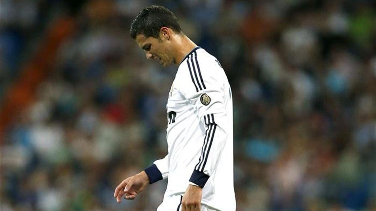 Cristiano Ronaldo, enfadado contra el Granada