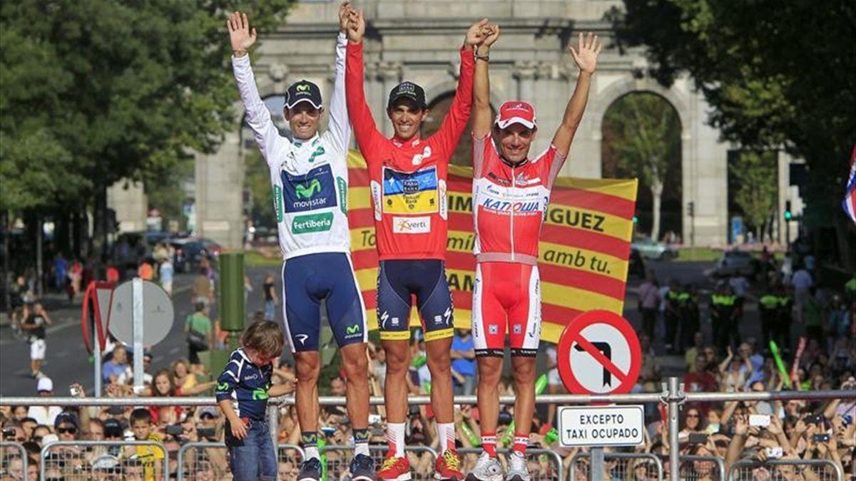Vuelta España Contador Valverde Rodríguez