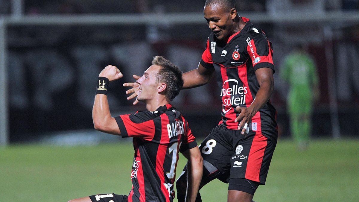 Nice bautheac Ligue 1 2012