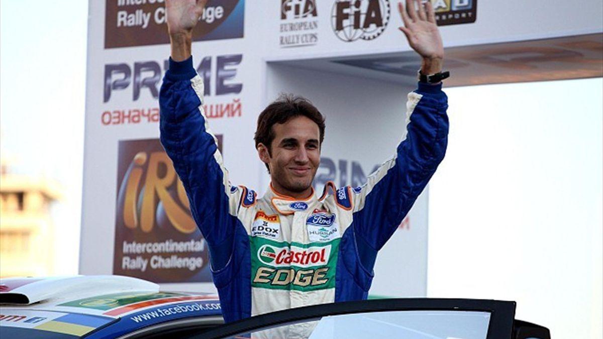 Saison 2012: Yağiz Avci, Prime Yalta Rallye (IRC)