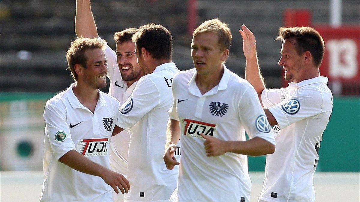 Saison 2012/2013: SC Preußen Münster, 3. Liga