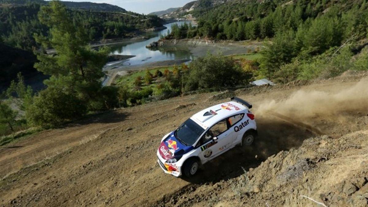 2012 Cyprus Rally Ford Al-Attiyah