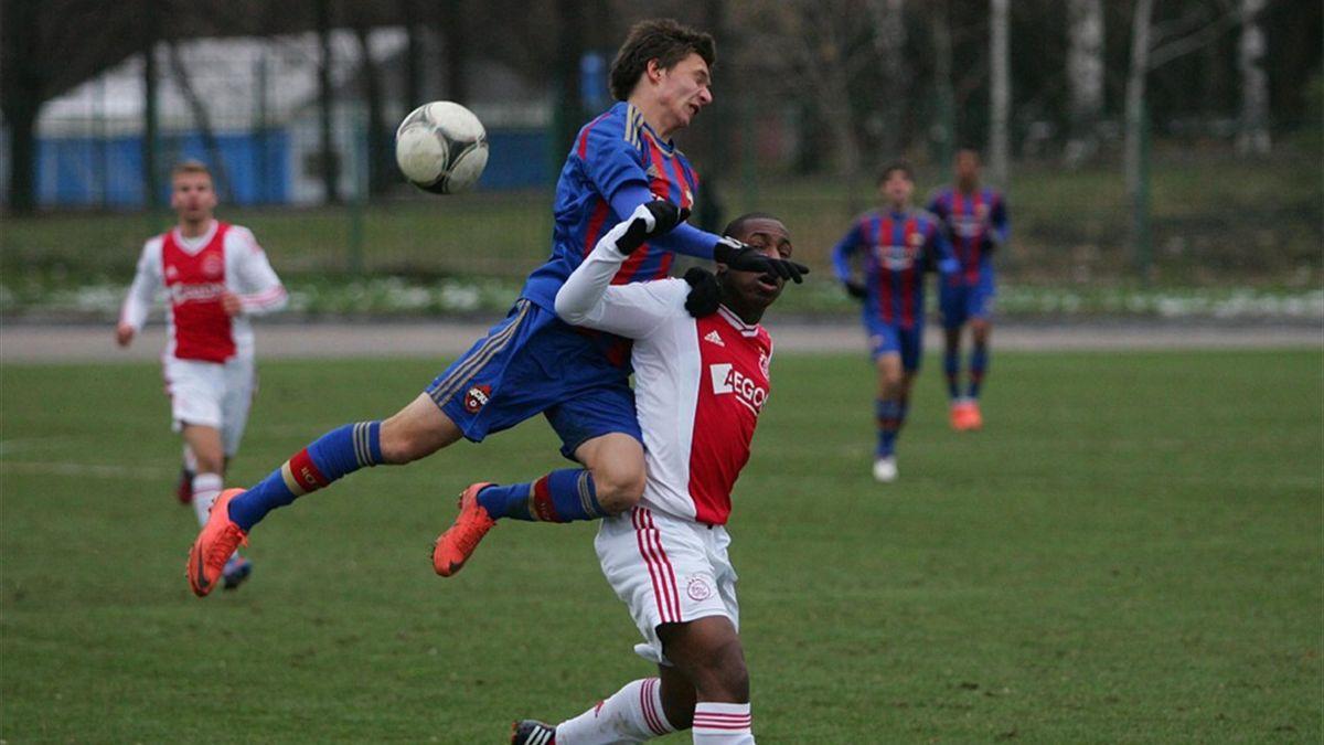 Ajax v CSKA Moscow in the NextGen Series