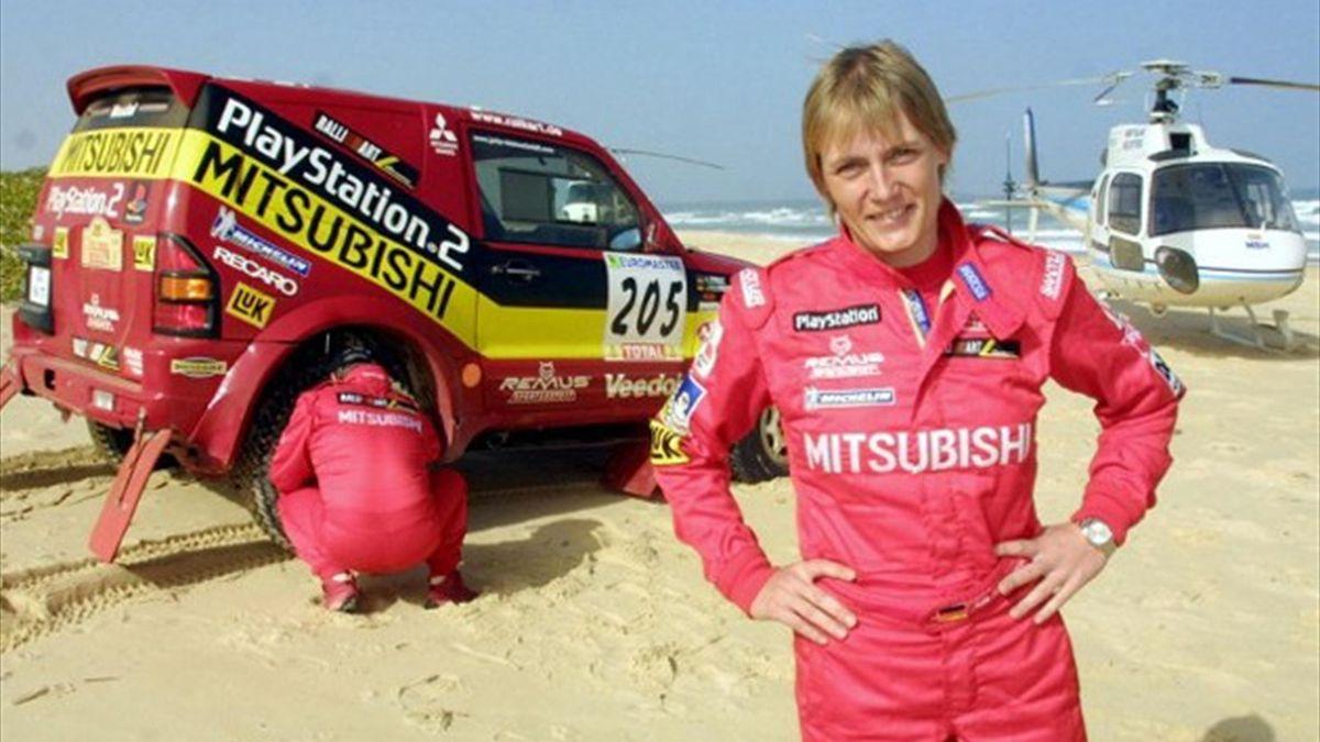 Jutta Kleinschmidt Dakar 2001