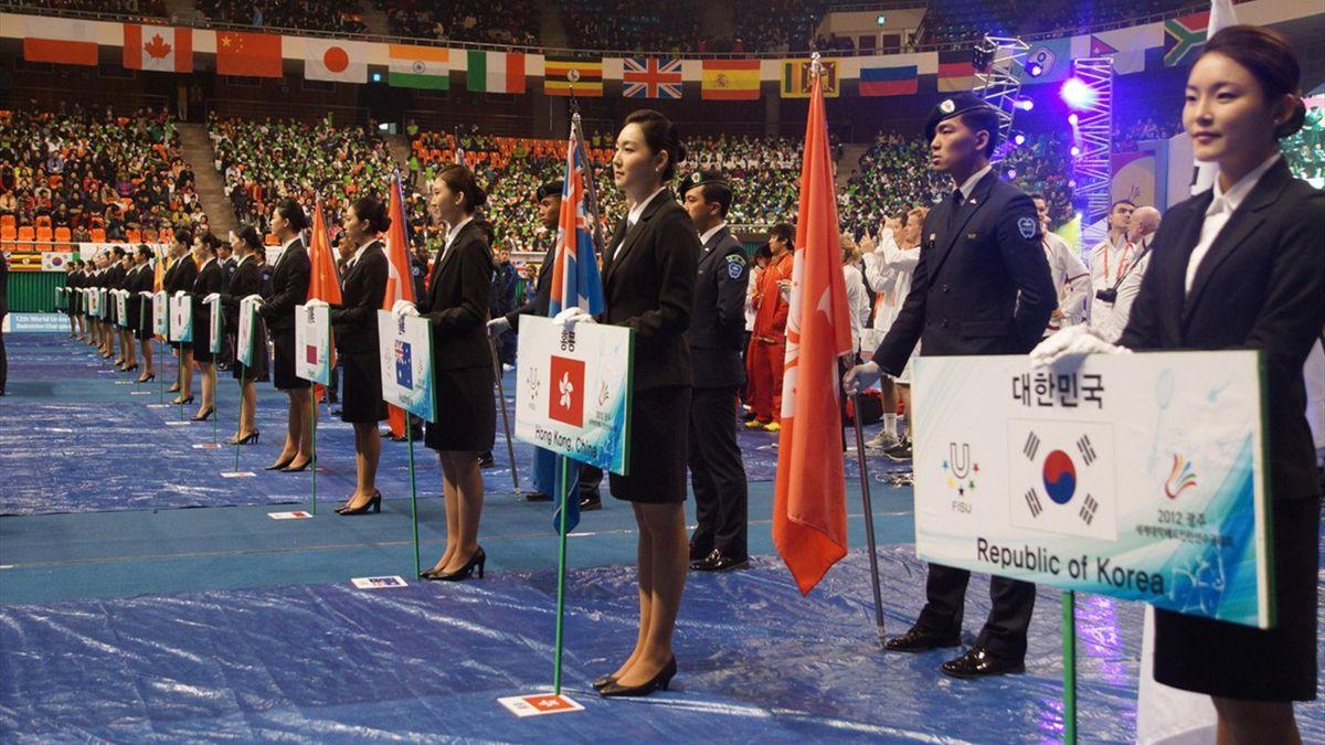 CMU Badminton 2012 - Opening Ceremony
