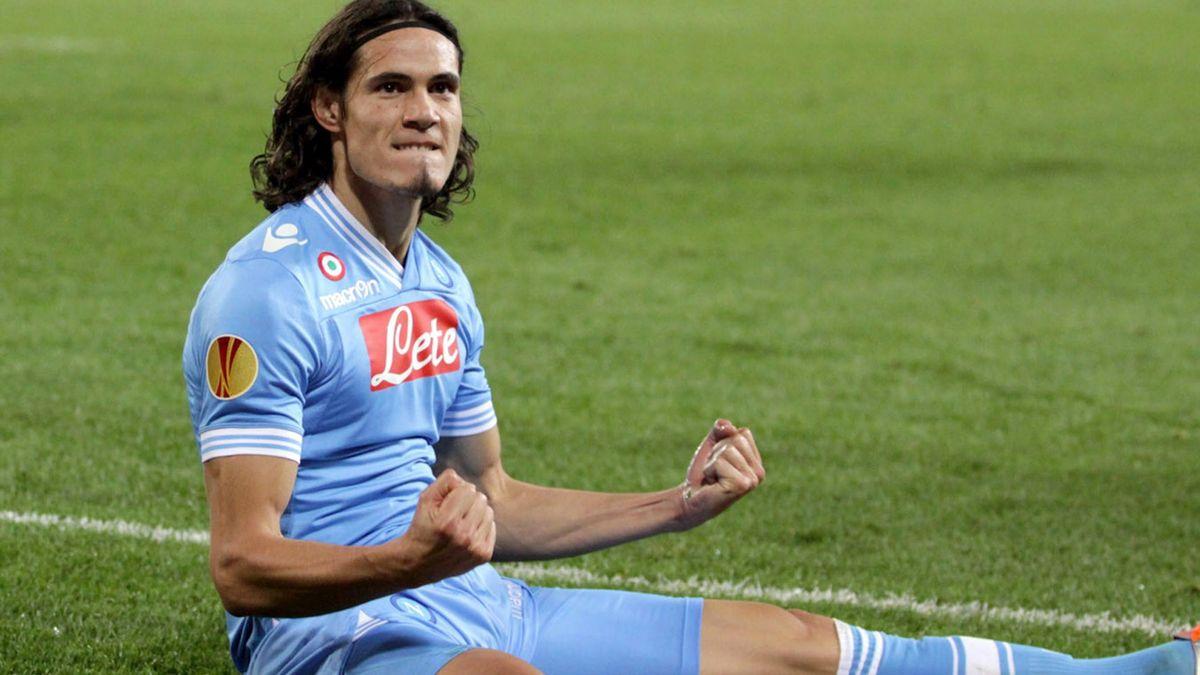 2012-2013 Cavani Napoli Europa LEAGUE