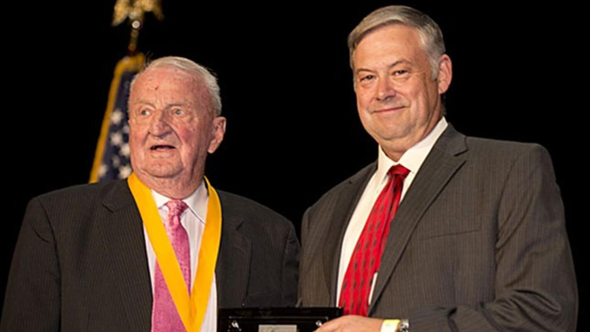 Former FISU President Killian in Hall of Fame