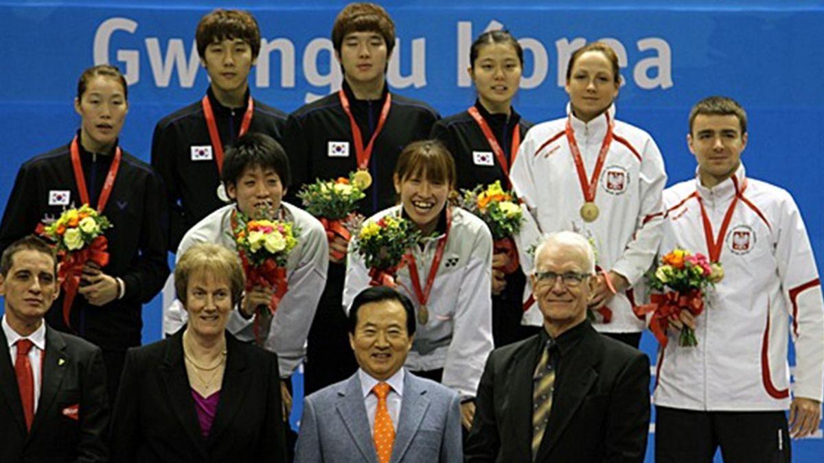 The 12th World University Badminton Championship in Gwangju