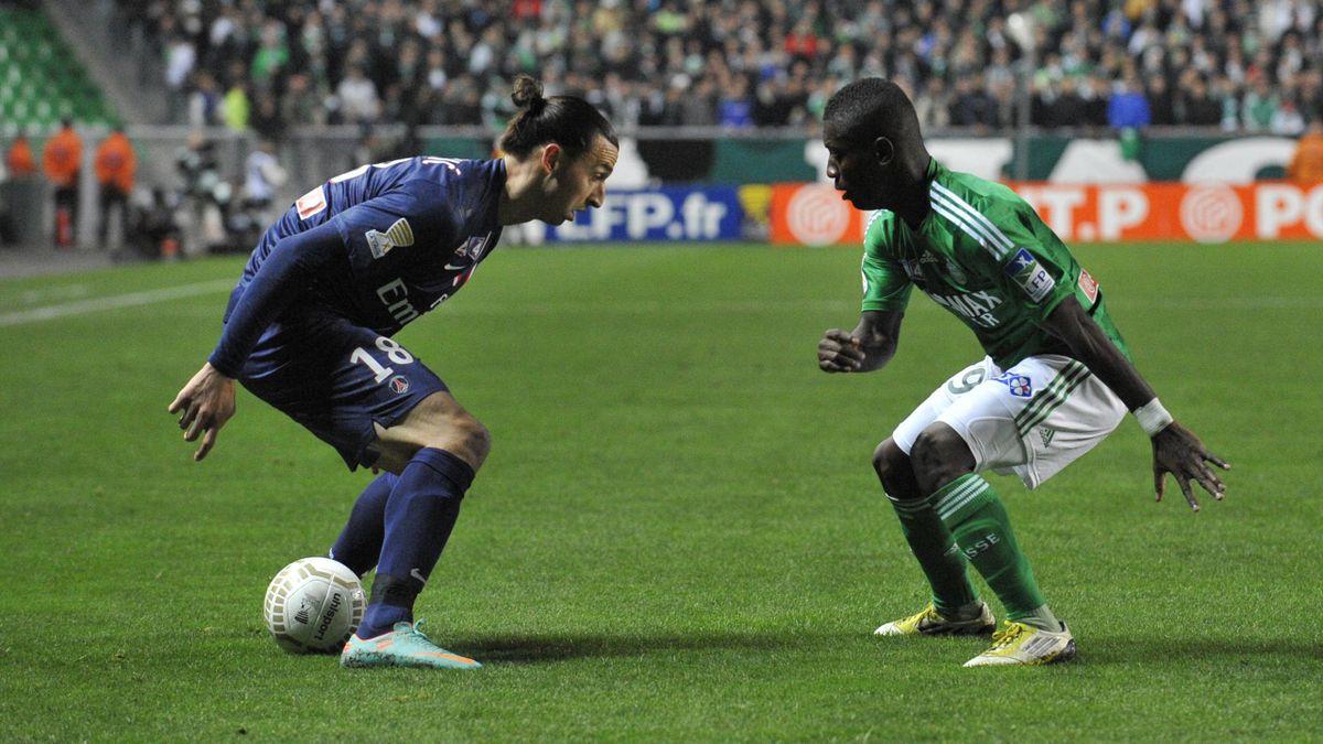 Ibrahimovic gradel psg Saint-etienne coupe de la ligue