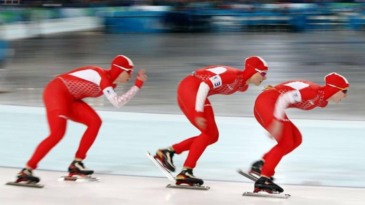 Poland's women's pursuit team (Imago)