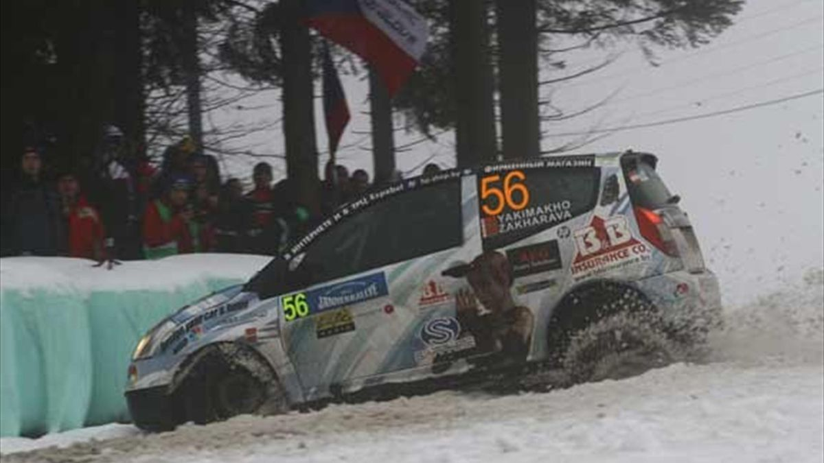 Rally de Austria.