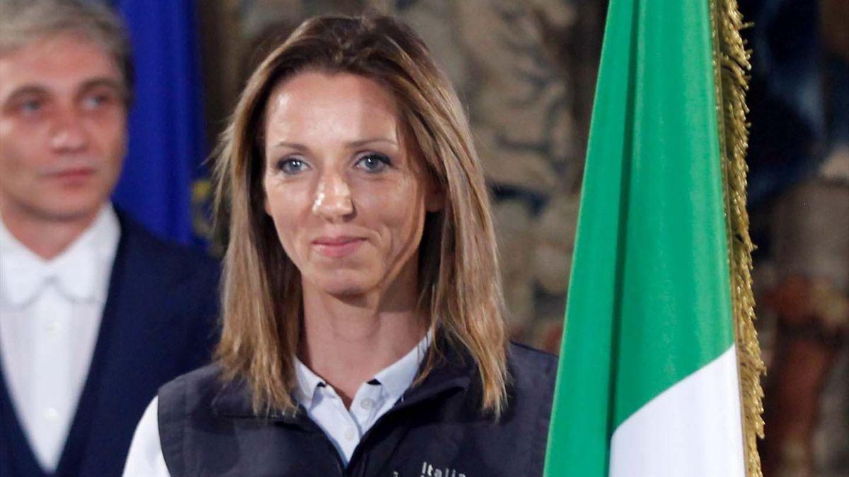 2012, Valentina Vezzali, Italy (AP/LaPresse)