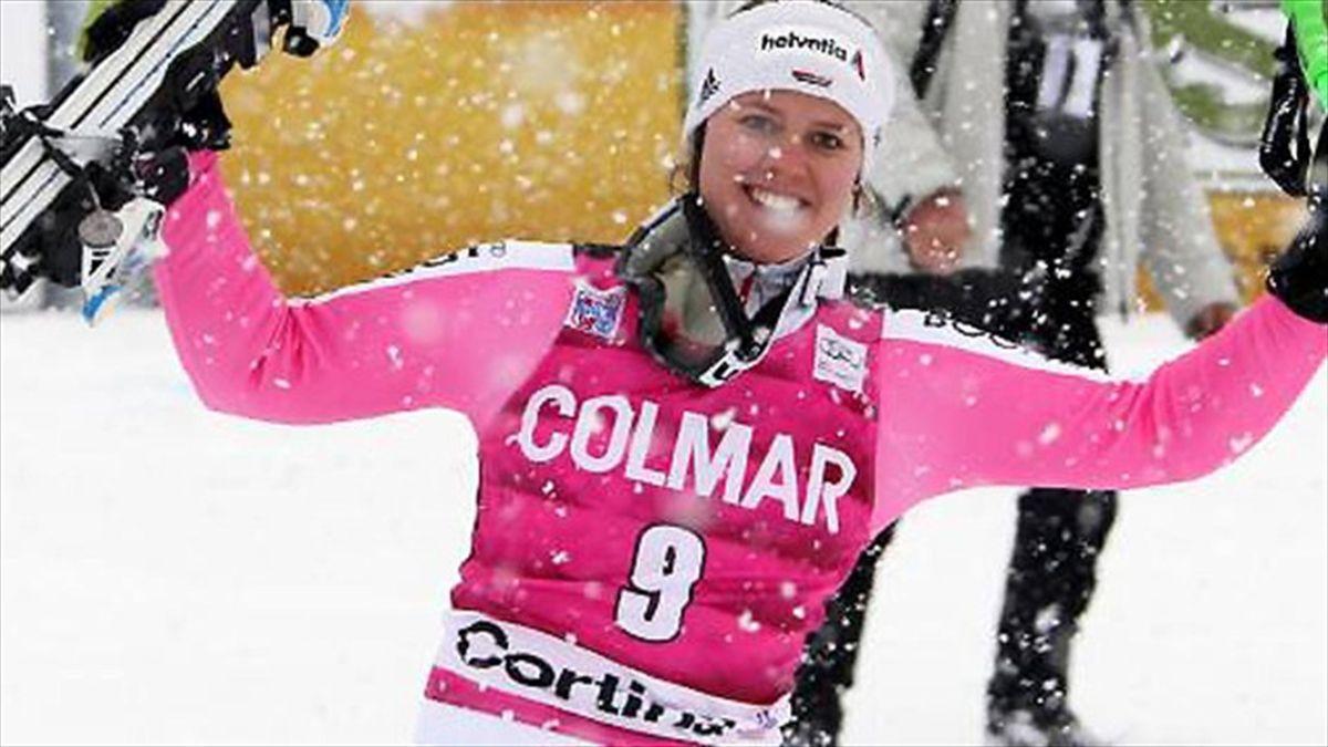 Triumph in Cortina d'Ampezzo: Viktoria Rebensburg