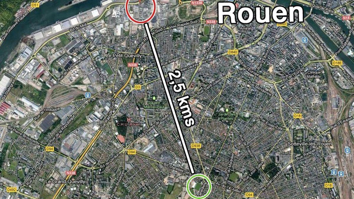 Rouen, 2012, Robert Diochon