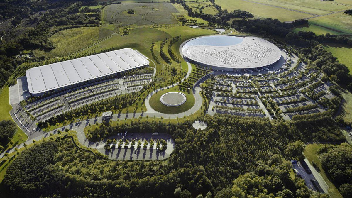 2012 Woking McLaren Technology Center Usine