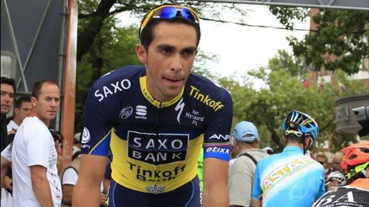 Alberto Contador at the Tour de San Luis