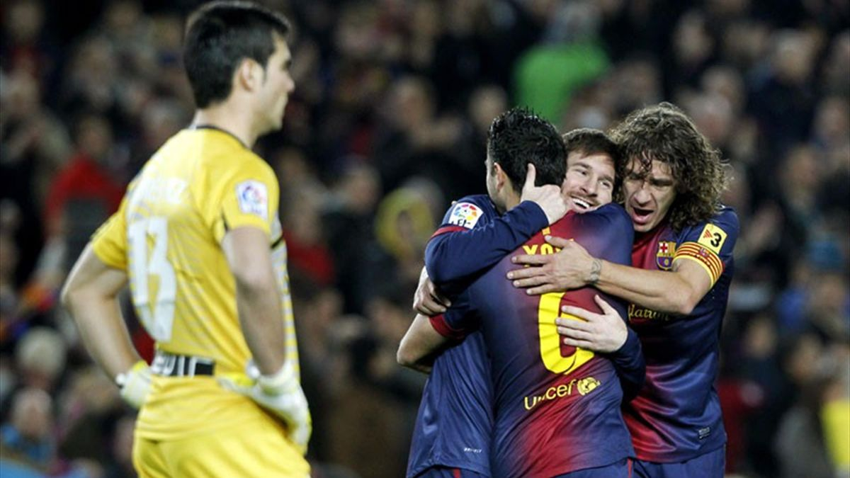 Lionel Messi v Osasuna