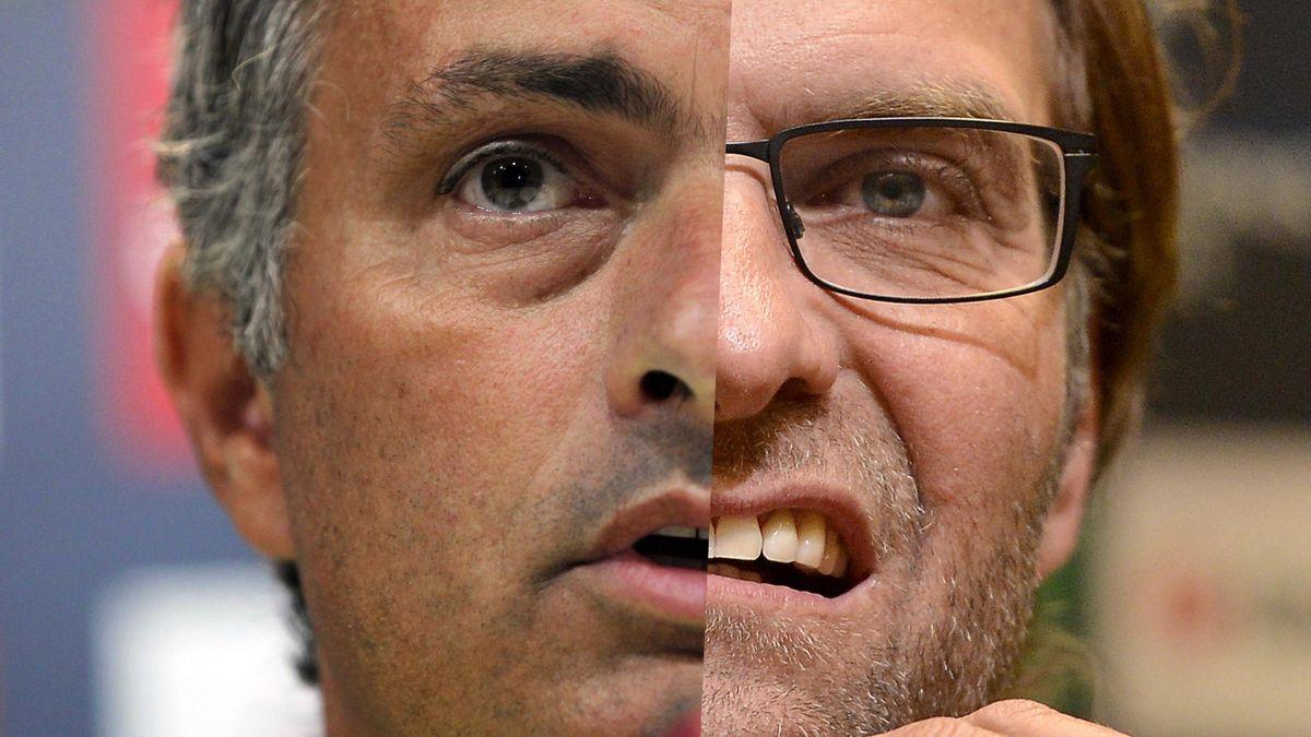 Mourinho Klopp