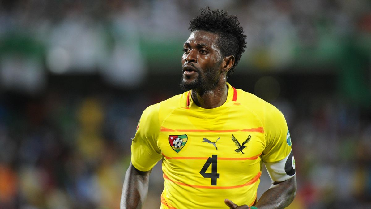 World of Football Player Shirt Togo adebayor