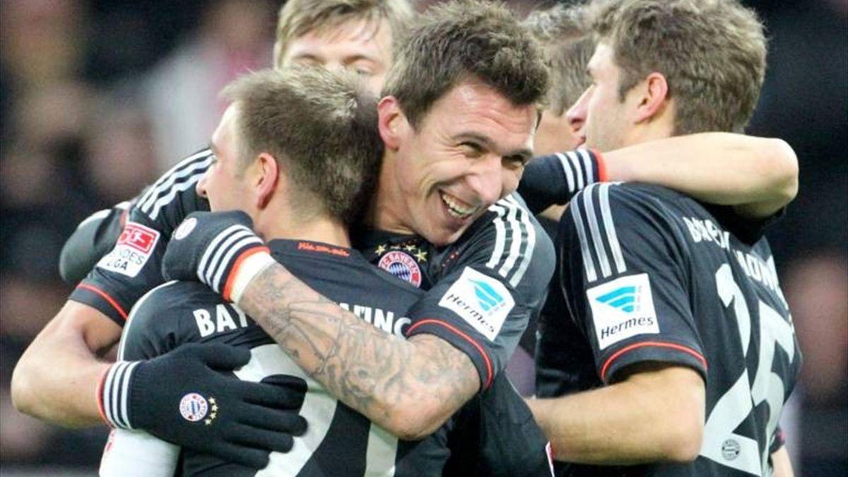 Mario Mandzukic - Mainz 05 v  FC Bayern - Bundesliga 2012-2013 (Imago)