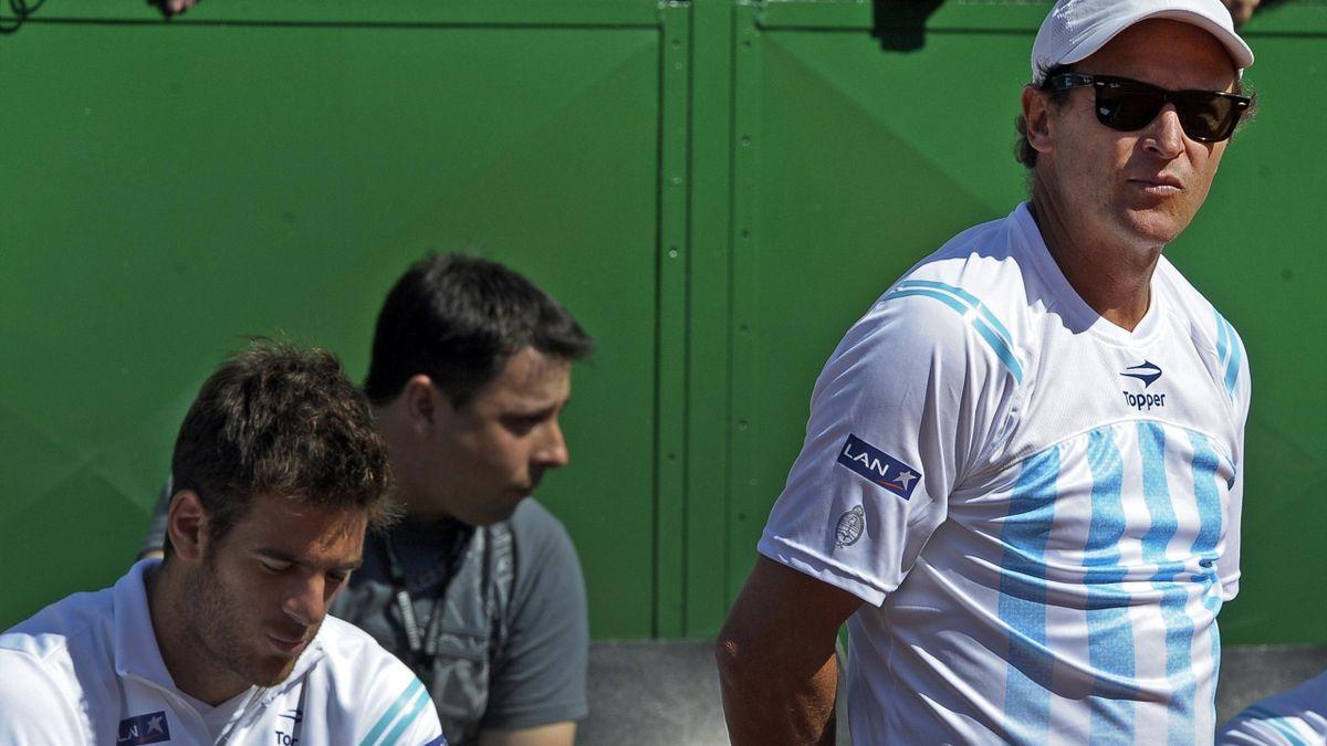 TENNIS 2012 Coupe Davis Argentine Del Potro Jaite