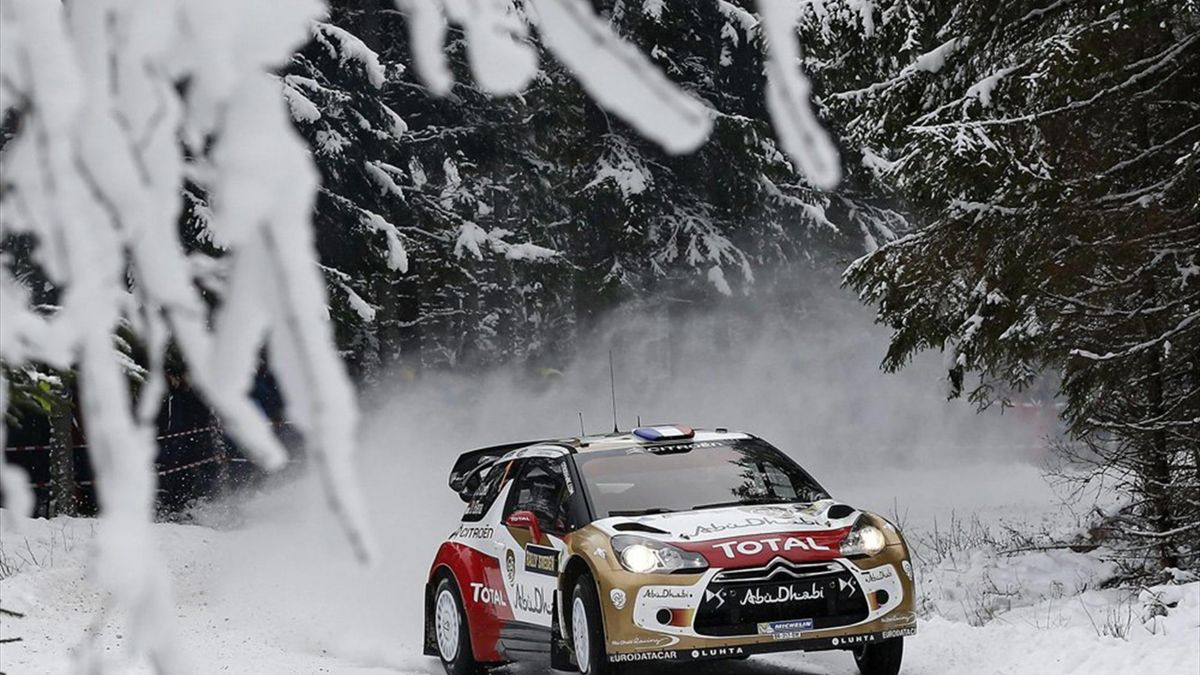 Sébastien Loeb holt Etappensieg