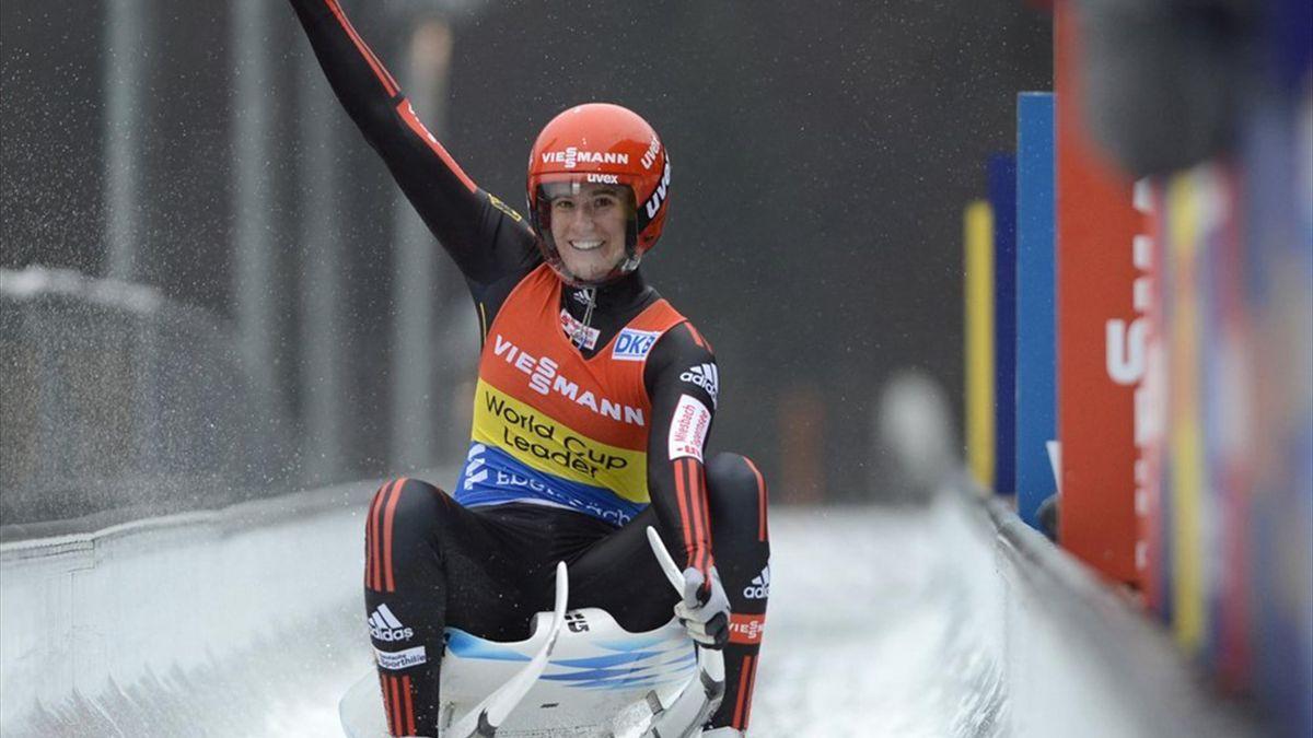 Natalie Geisenberger sichert sich Gesamtweltcup