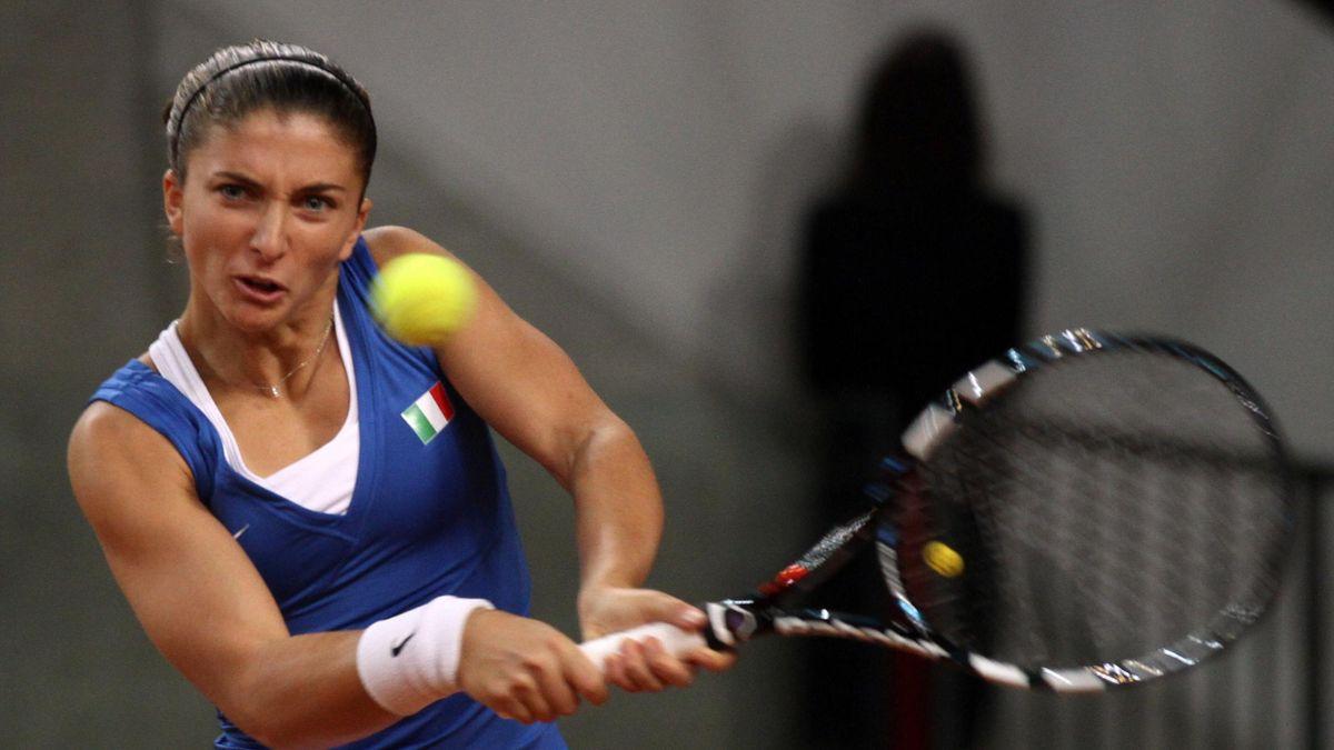 Tennis FedCup 2013 Italy Sara Errani