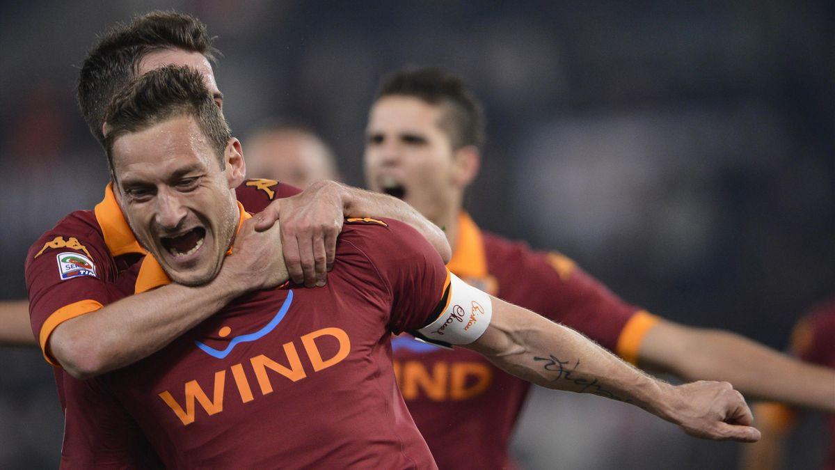 Francesco Totti Roma Juventus 2013 AP/LaPresse