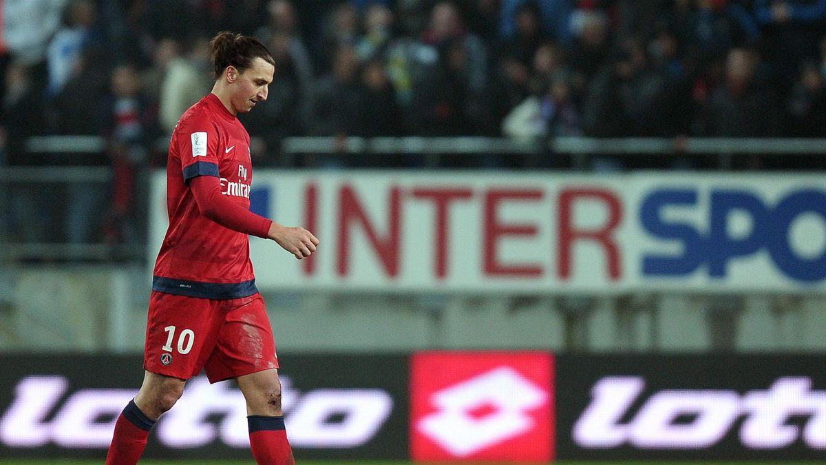 Zlatan Ibrahimovic PSG Paris Sochaux