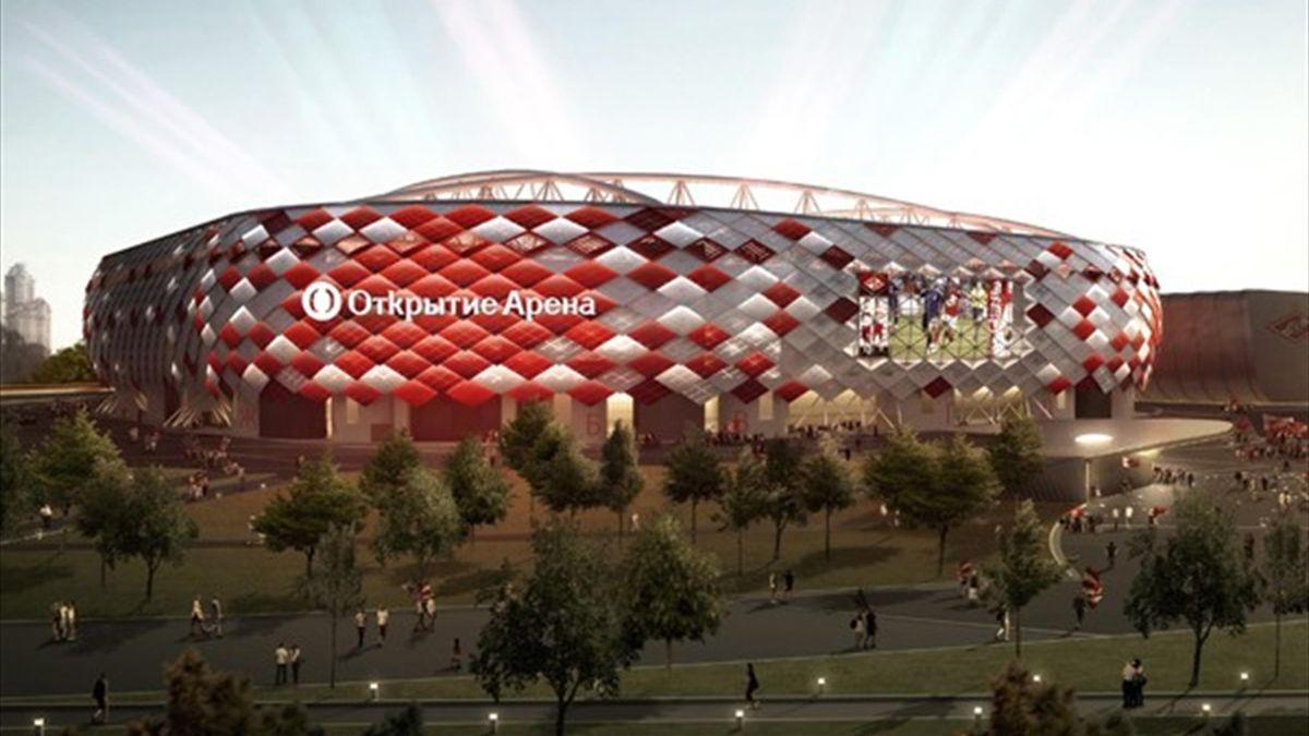 спартак открытие стадион
