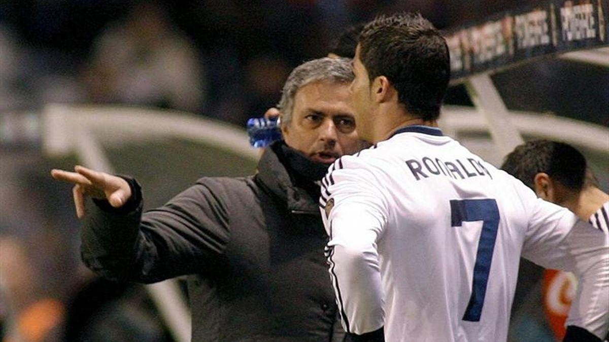 Mourinho y Cristiano