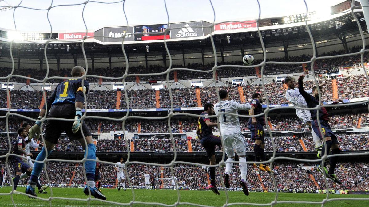FOOTBALL - 2012/2013 - Real Madrid-Barcelone - Ramos