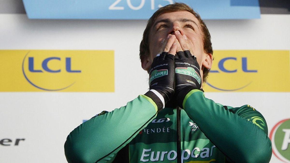 Damien Gaudin of Team Europcar (AFP)
