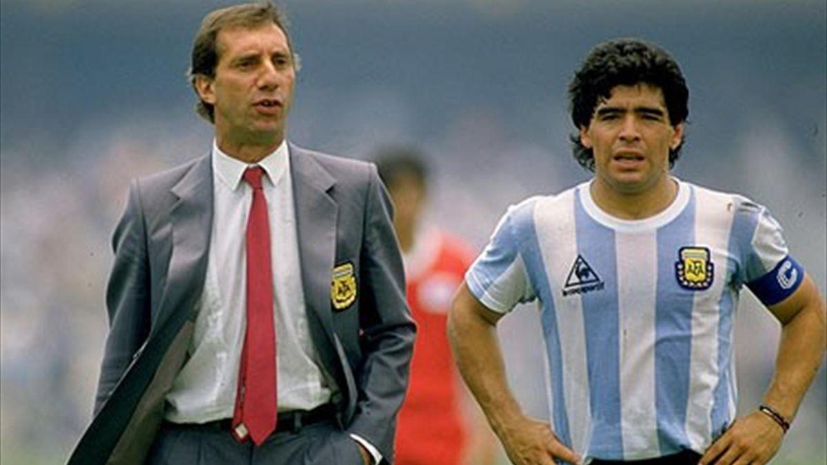 Carlos Bilardo, Diego Armando Maradona