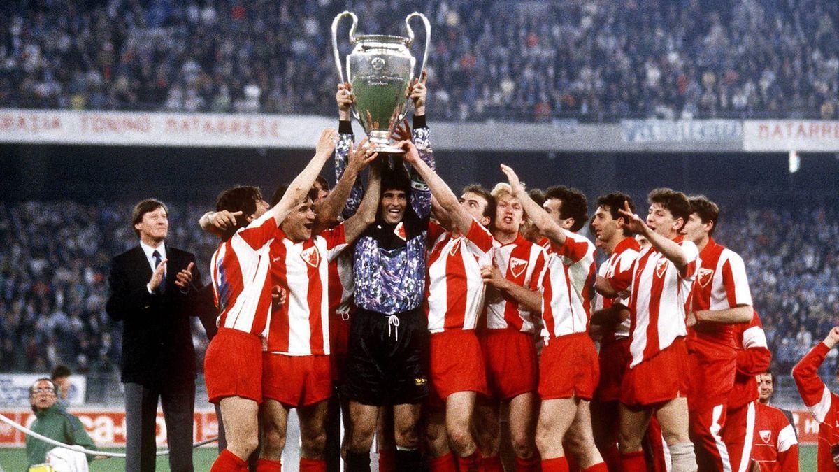 European cup 1991 red star belgrad
