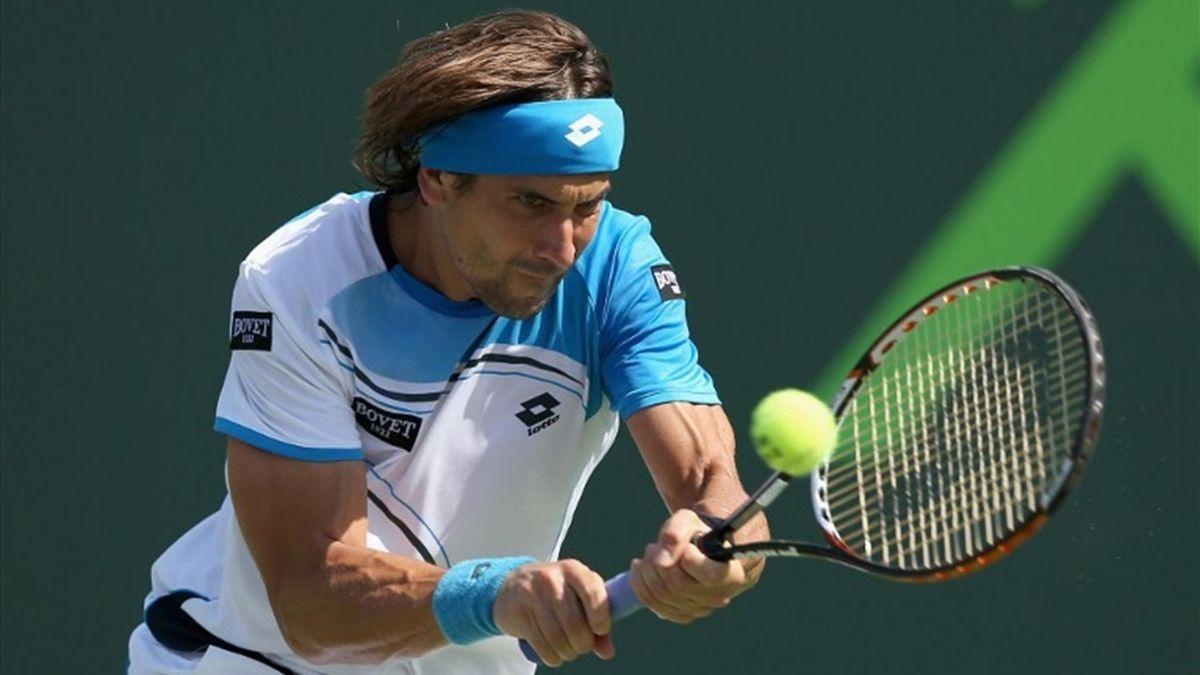 David Ferrer, en el Masters 1000 de Miami / Clive Brunskill (AFP)