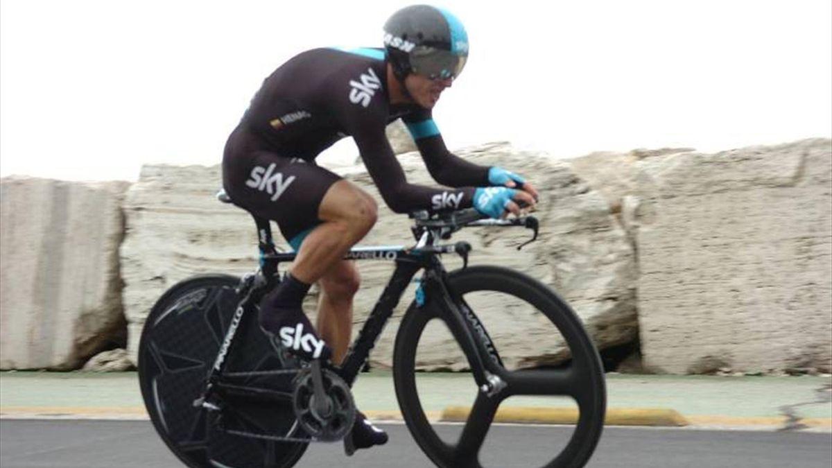 Sergio Henao of Team Sky (IMAGO)