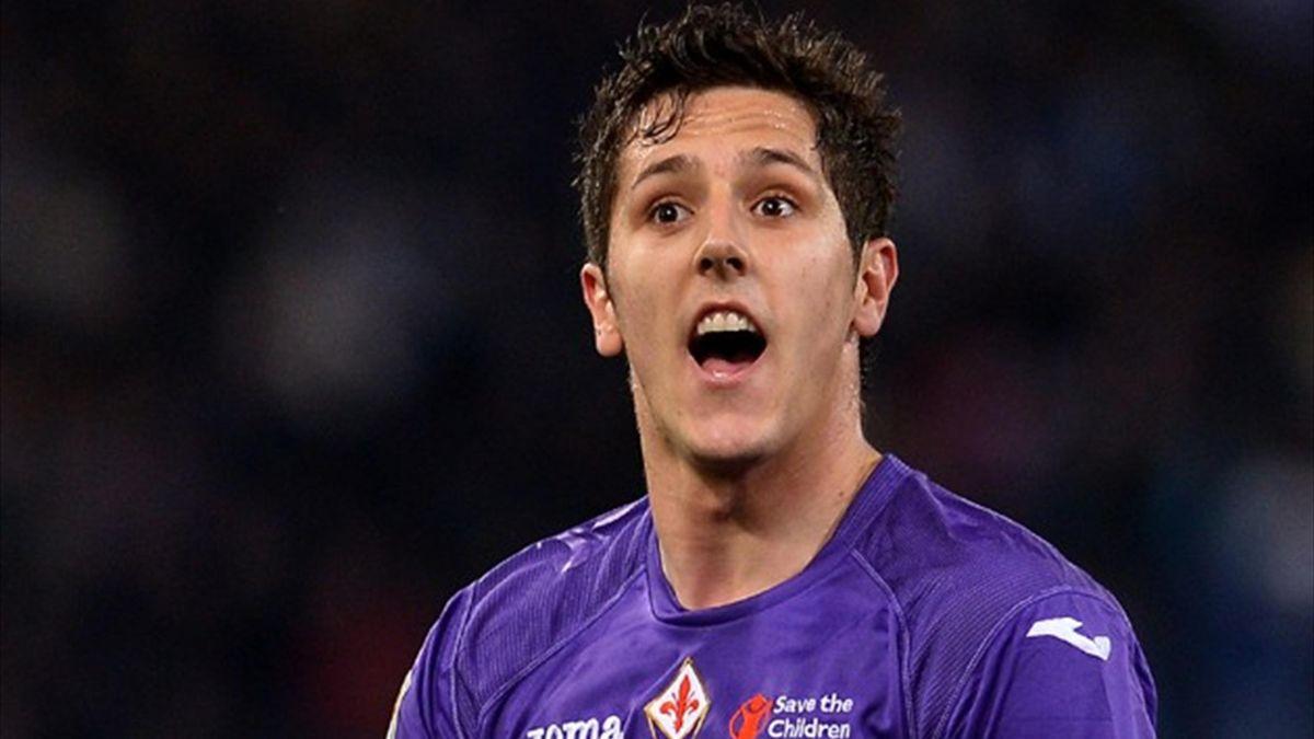 Fiorentina striker Stevan Jovetic (AFP)