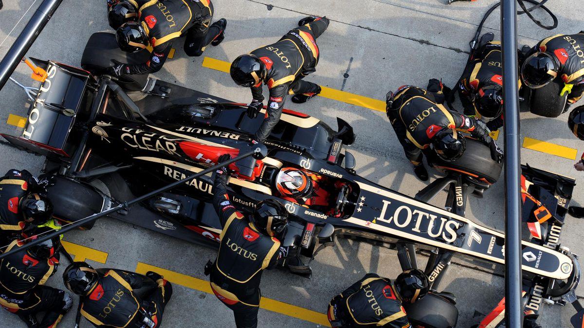 2013 GP de Malaisie Lotus Räikkönen