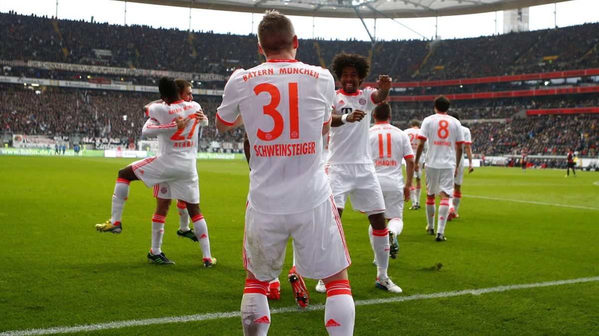 Bastian Schweinsteiger, David Alaba - Bayern Münih.