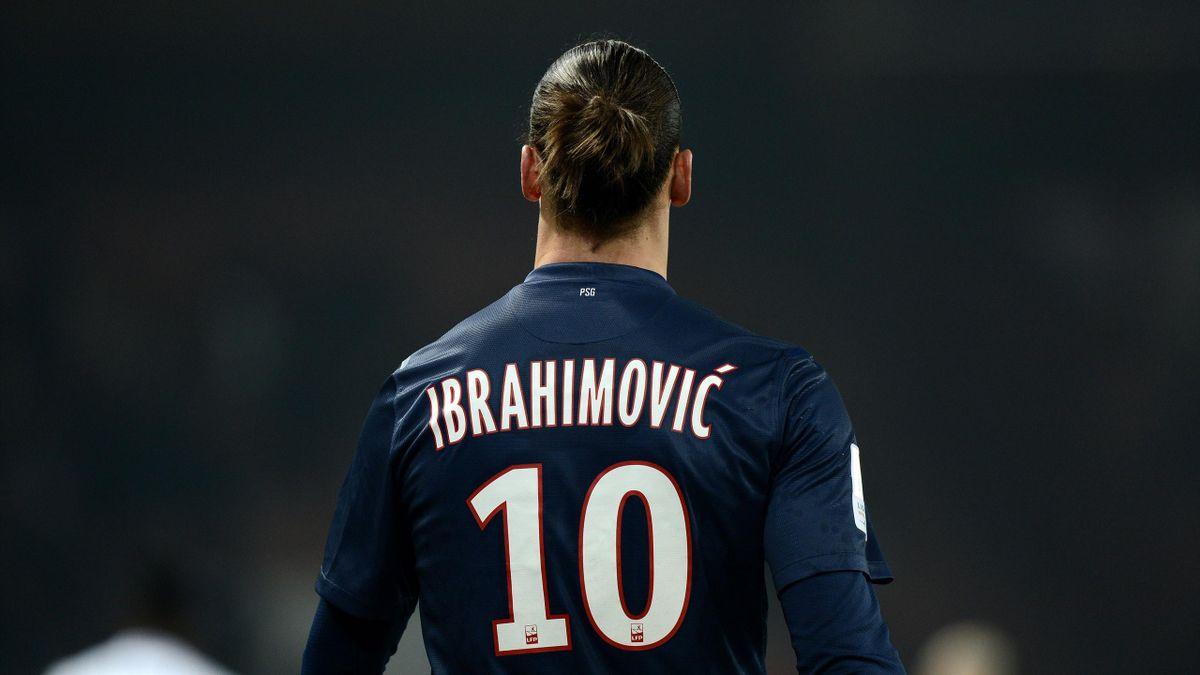 FOOTBALL 2013 PSG Paris Zlatan Ibrahimovic