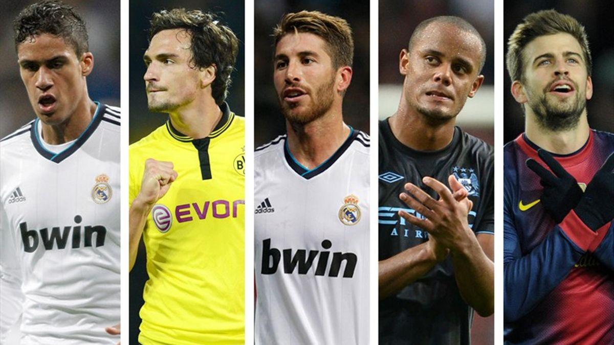 FOOTBALL 2013 Top 10 défenseurs - Varane, Sergio Ramos, Hummels, Piqué, Kompany
