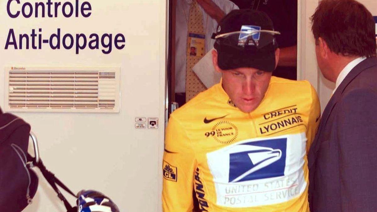 Lance Armstrong wurde bei seinem Tour-Sieg 1999 viermal positiv getestet.